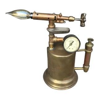 Steampunk Industrial Torch Lamp