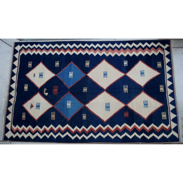 "Image of Contemporary Handmade Persian Rug - 5'5"" X 8'9"""