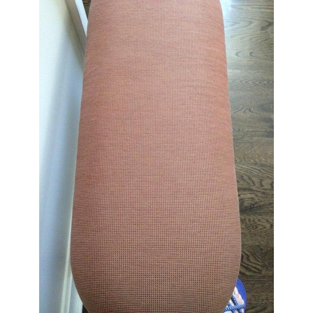 Interior Crafts Silver Leaf Upholstered Bench - Image 11 of 11