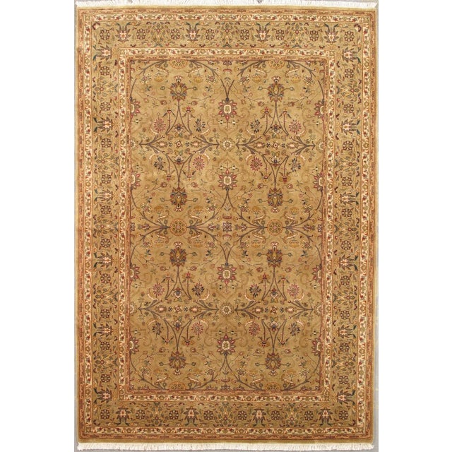 Image of Pasargad Tabriz Collection Traditional Rug - 6'x9'