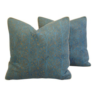 Italian Mariano Fortuny Granada Pillows - A Pair
