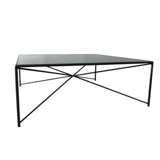 Jax Steel & Mirror Top Coffee Table