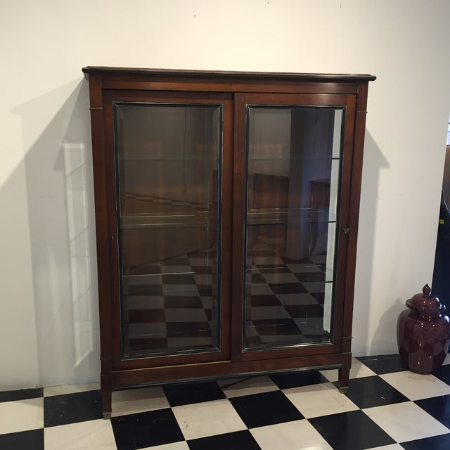 Image of Directoire Display Cabinet