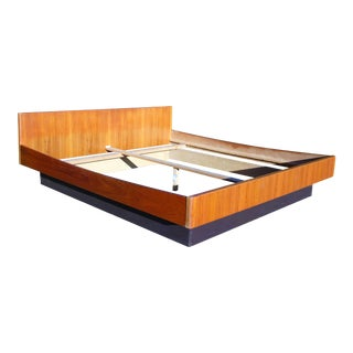 Danish Modern Teak King Platform Bed