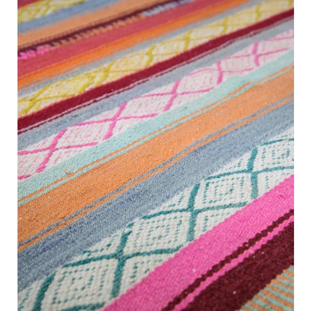 Handwoven Peruvian Throw - Image 2 of 4