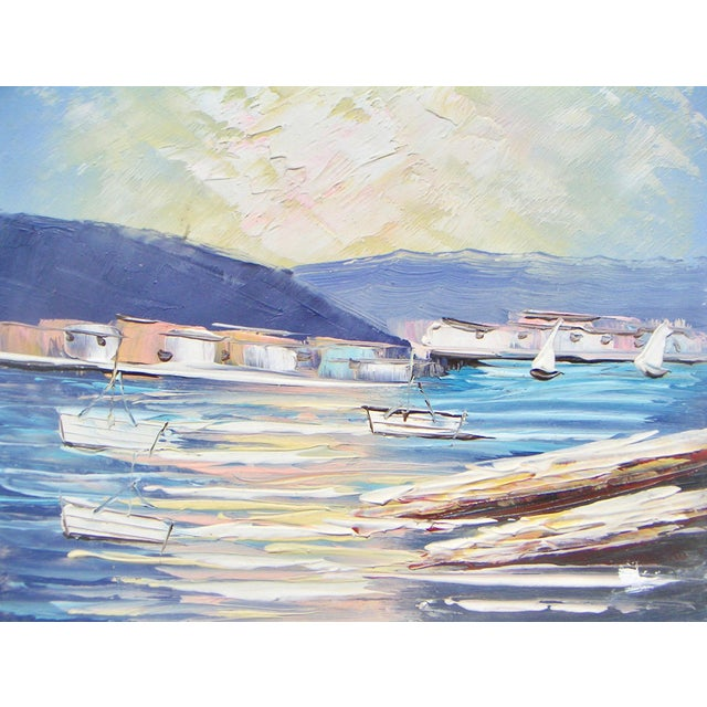 Sausalito California Modernism Painting - Image 3 of 4