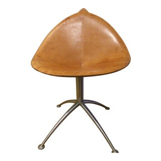 Contemporary Leather Fasem Chair