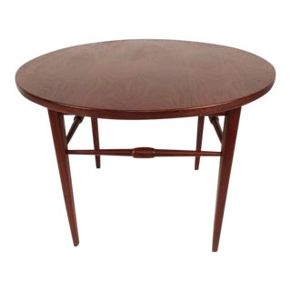Mid-Century Modern Round End Table