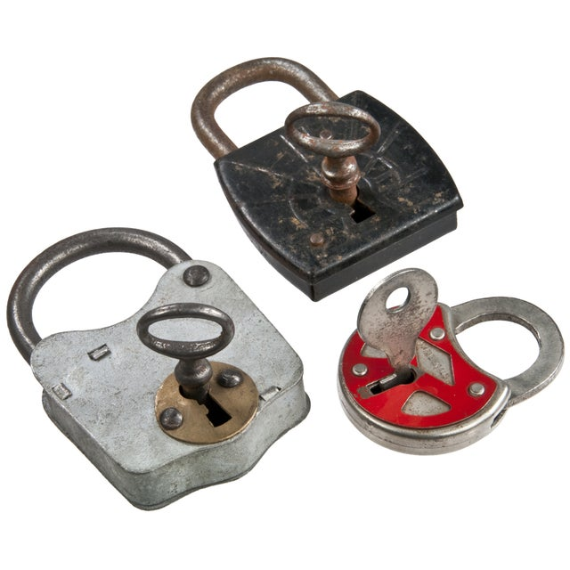 Vintage Padlocks - Set of 3 - Image 2 of 4