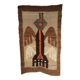 Peruvian Wool Handwoven Fiber Art
