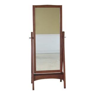 Stickley Mission Oak Arts & Crafts Cheval Mirror