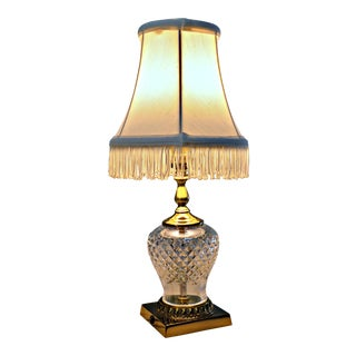 Vintage Waterford Crystal/Petite Table Lamp