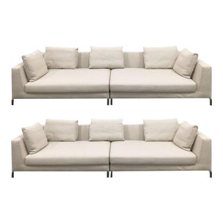 Antonio Citterio For B&B Italia 'Ray' Sofas - A Pair