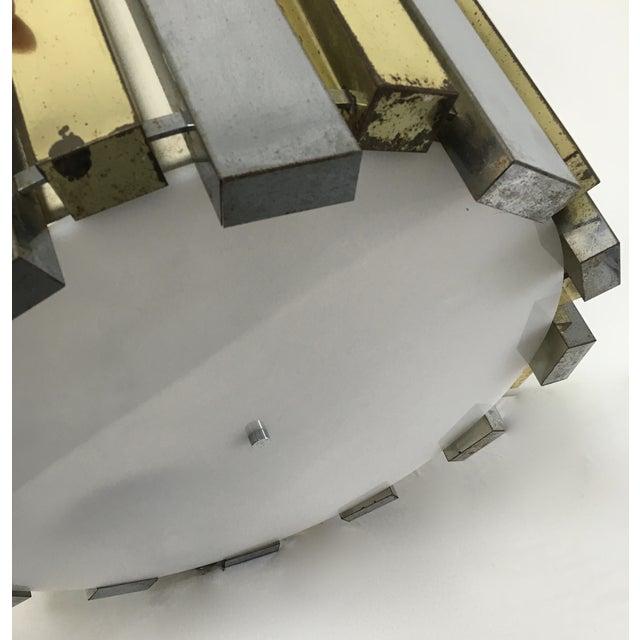 Mid-Century Brass Chandelier - Image 5 of 6
