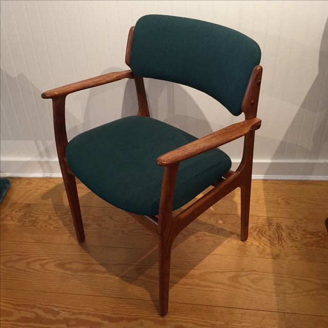 Image of Danish Modern Erik Buch Chairs - Set of Two