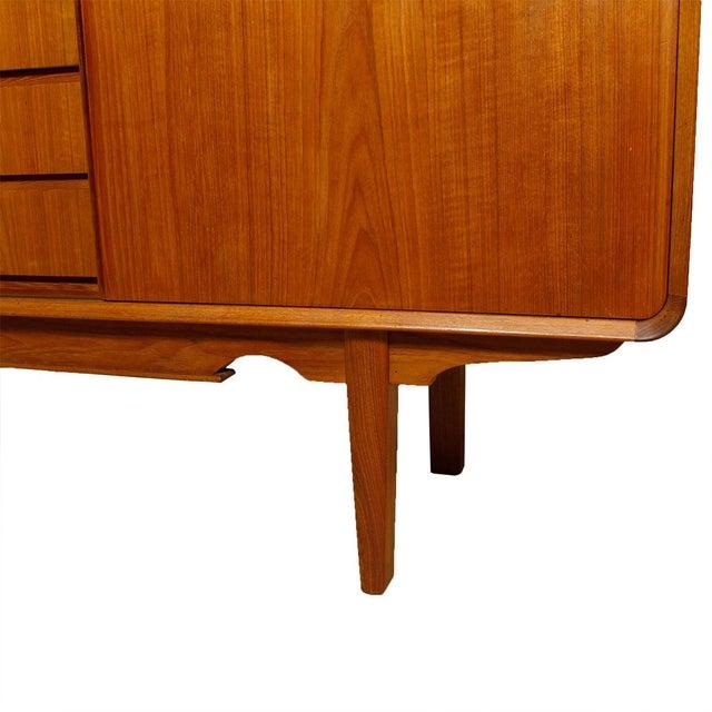 Rare Danish Modern Teak Highboard / Bar Cabinet - Image 9 of 9