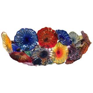 Handblown Glass Chandelier