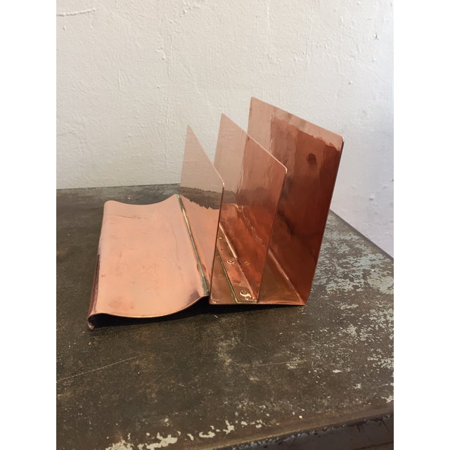 Copper File Sorter With Pen Rest - Image 5 of 6