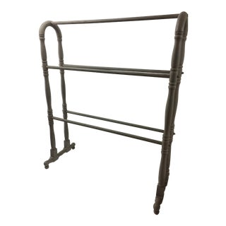 Vintage Wooden Blanket Rack