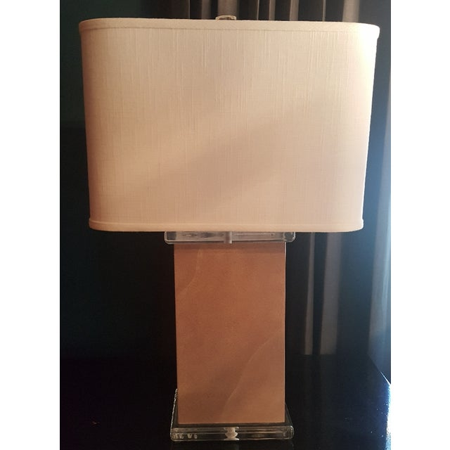 Mid-Century Vellum Table Lamps - A Pair - Image 4 of 7