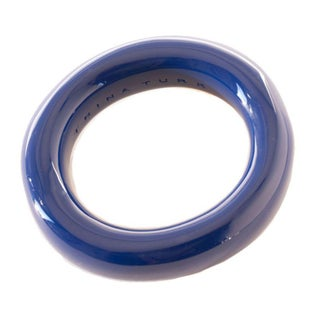Trina Turk Royal Blue Resin Bangle Bracelet