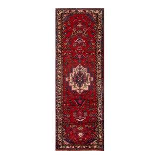 "Apadana - Vintage Persian Hamadan, 3' x 10'4"""