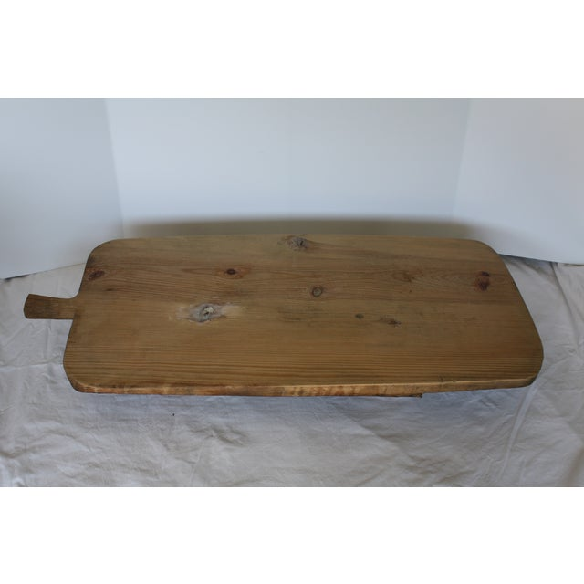 Vintage Footed European Breadboard - Image 5 of 6