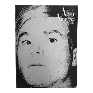 "Vintage ""Art in America"" Magazine With Andy Warhol Cover"