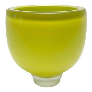 Citreum Murano Glass Vase