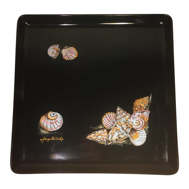 Georges Briard Vintage Signed Seashell Tray - Image 1 of 7