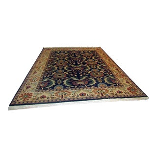 Colorful Turkish Mahal Hand Tied Rug - 8' X 10'