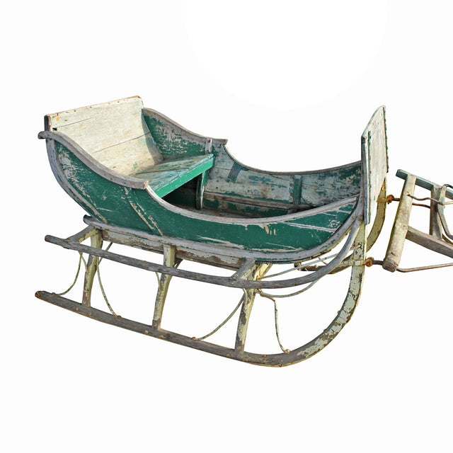 Image of Antique Late 19th Century Industrial Cutter Sleigh