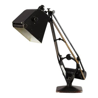 Table lamp with counterweight by Hadrill & Horstman, 1920s
