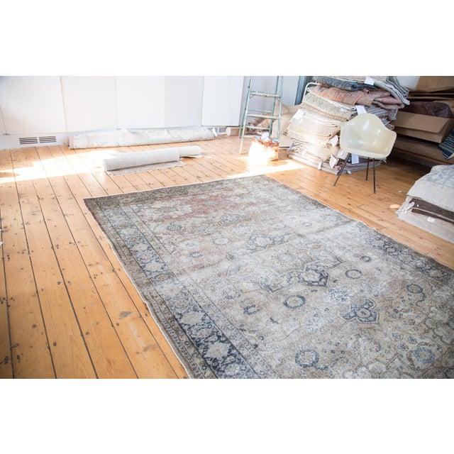 """Distressed Kaisary Carpet - 6'8"""" X 9'5"""" - Image 5 of 10"""