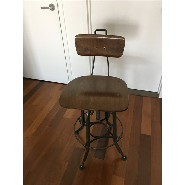 Restoration Hardware Bar Stool Chairish