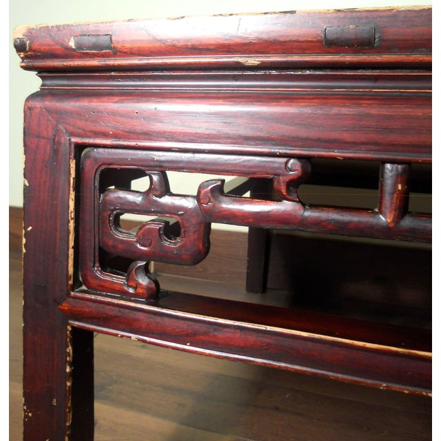 Antique Ming Coffee Table - Image 8 of 8