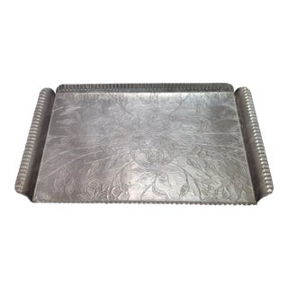 1940s Aluminum Serving Tray