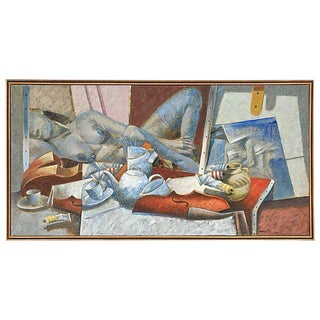 "Jesus Marcos ""Mesa Con Objetos"" Painting"