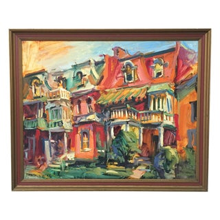 Forrest Jacobs New Orleans Street Scene Painting
