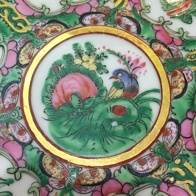 Vintage Japanese Hand Painted Floral Bowl - Image 3 of 6