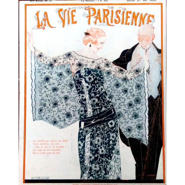 1922 La Vie Parisienne Cover Prints - a Pair - Image 2 of 9