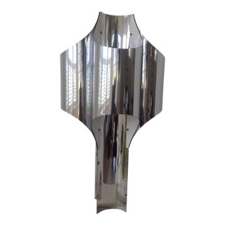 Robert Sonneman 1960's Chrome Table Lamp