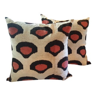 Single Sided Throw Pillows - A Pair