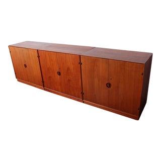 Teak Cabinets by Peter Hvidt