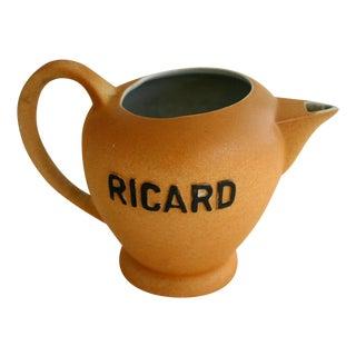 French Ricard Advertising Jug