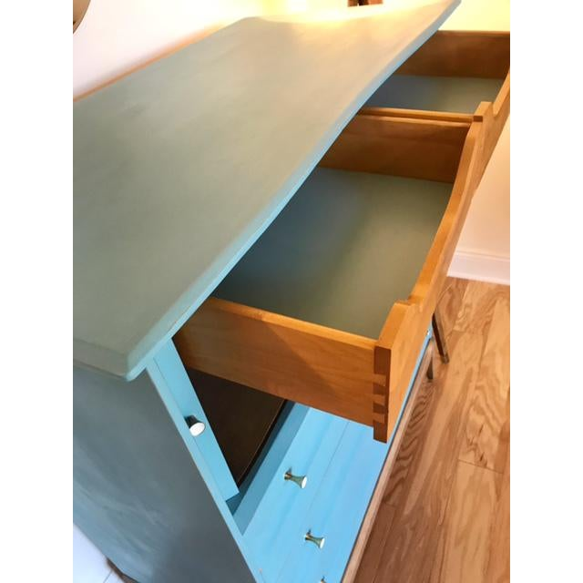 Mid-Century Tallboy Dresser - Image 4 of 7