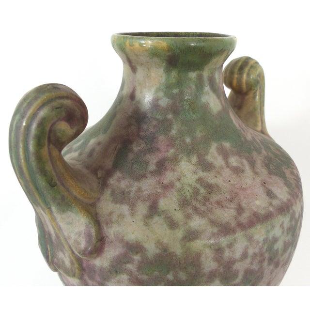 Vintage Burley-Winter Urn Style Vase With Handles - Image 6 of 8