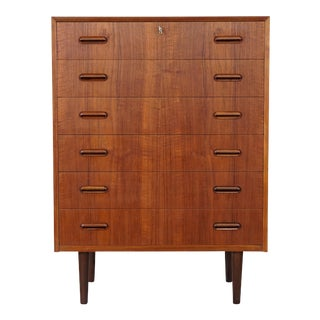 "Original Mid Century Modern Danish Teak Dresser - ""Ditte"""