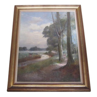 Landscape Oil Painting by Thomas Bunting