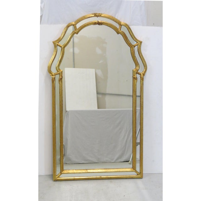 Italian Gilt Wood Wall Mirror - Image 2 of 5